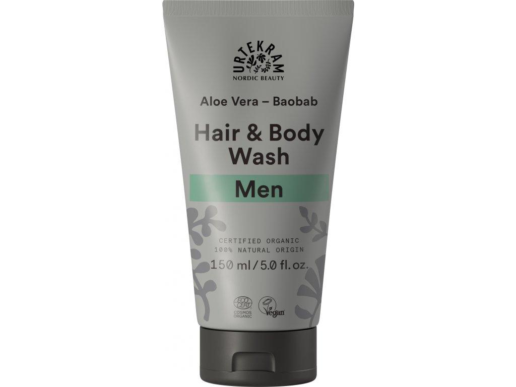 Urtekram Sprchový gel a šampón MEN 150ml BIO + DOPRAVA ZDARMA po celý rok!