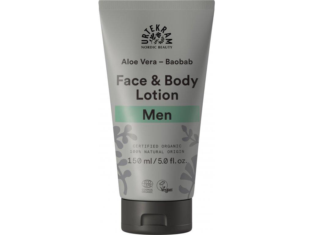 Urtekram Krém na tělo i obličej MEN 150ml BIO + DOPRAVA ZDARMA po celý rok!