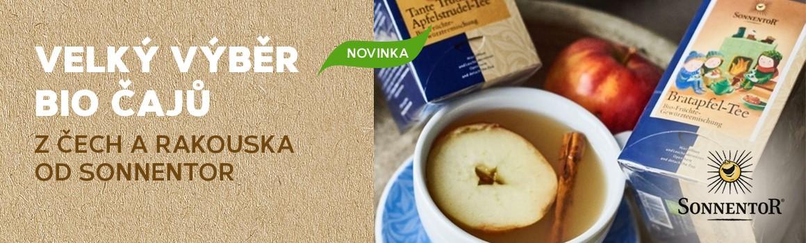 Sonnentor novinka mezi čaji
