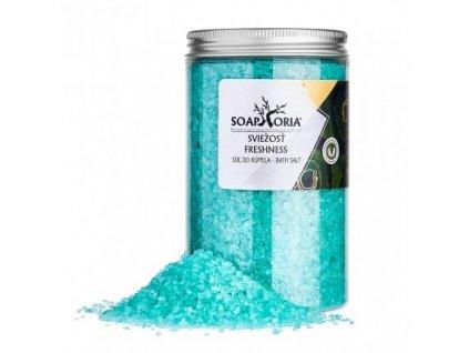 Soaphoria  Přírodní sůl do koupele Hluboký nádech 500 g