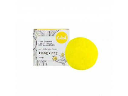 Kvitok Přírodní tuhý šampón s kondicionérem Ylang Ylang XXL 50 g