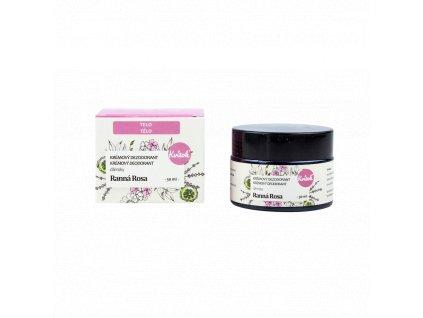 Kvitok Přírodní jemný krémový deodorant Ranní rosa 30 ml