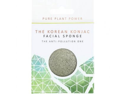The Konjac Sponge Company Element Země s energizujícím turmalínem 1ks