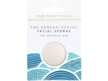 The Konjac Sponge Company Element voda 100% čistý Konjac 1ks