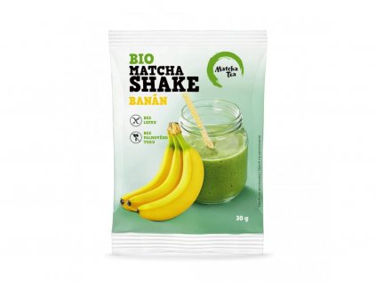 Matcha Tea BIO Matcha Shake banánový 30g