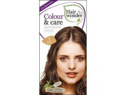 Hairwonder Dlouhotrvající barva Bio Tmavá blond 6 100ML