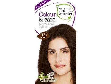 Hairwonder Dlouhotrvající barva Bio Espresso 3.37 100ML