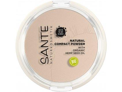Sante Kompaktní pudr No.01 Cool Ivory 9 g