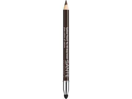 Sante Kajalová ceruzka na oči 06 tmavo hnedá
