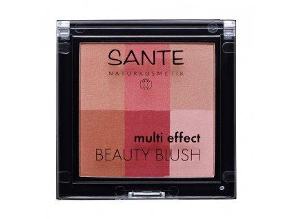 Sante Růž na tváře Multi Effect Beauty Blush 02 brusinková 8g