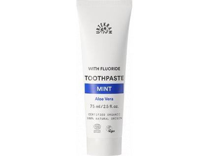 Urtekram Zubní pasta s mátou a fluorem 75 ml