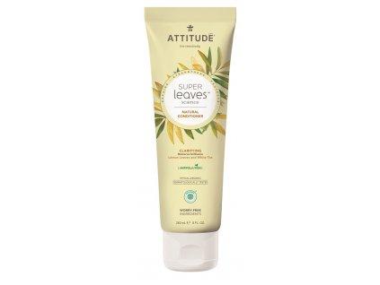 Attitude Super leaves Prírodný kondicionér s detoxikačným účinkom - rozjasňujúci pre normálne a mastné vlasy 473 ml