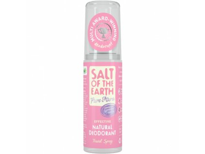 Salt of the Earth Deo sprej Pure Aura levandule-vanilka 50 ml