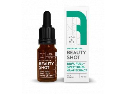 You & Oil Beauty Shot 100% Regenerační konopné sérum 10ml