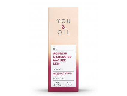 You & Oil Pleťový olej pre zrelú pleť 50ml