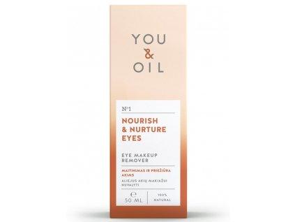 You&Oil Odličovač očí 50ml