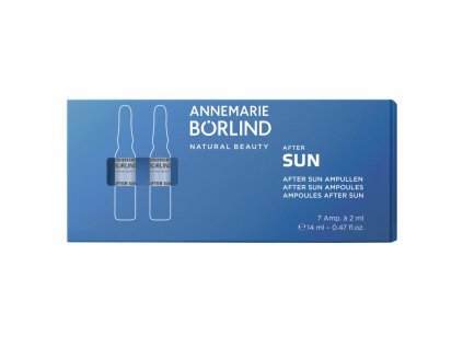 Annemarie Börlind After Sun Ampulky po opaľovaní 7ks