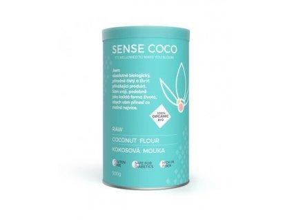 SENSE COCO 100% Bio RAW kokosová mouka 500 g