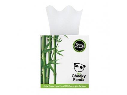 The Cheeky Panda Kozmetické obrúsky 3-vrstvové 56ks