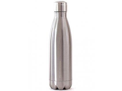 Yoko Design termolahev 750 ml lesklá stříbrná