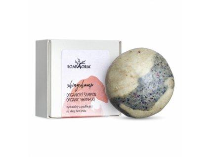 Soaphoria Tuhý šampón na normálne vlasy ShinyShamp 60 g