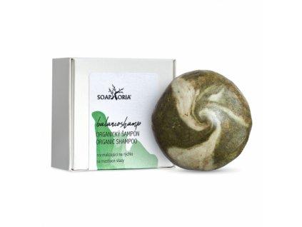 Soaphoria Tuhý šampón na mastné vlasy BalancoShamp 60 g