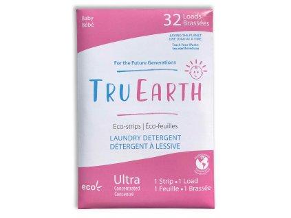 Tru Earth Eko Pracie pásky na detskú bielizeň Baby 32 ks