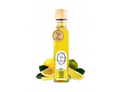 Ťuli a Ťuli Přírodní šampon citron a limetka 250 ml
