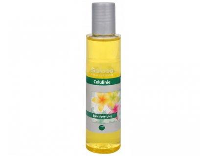 Saloos Sprchový olej Celulinie 125 ml