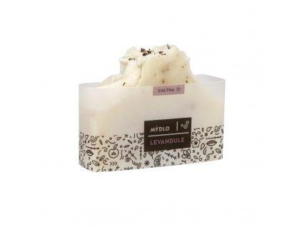 Caltha Bylinné tuhé mýdlo Levandule 100 g