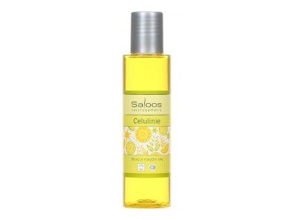 Saloos Tělový a masážní olej Celulinie 125 ml