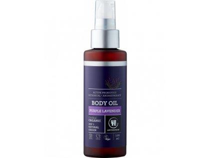 Urtekram Tělový olej levandulový 100 ml BIO