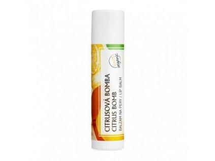 Soaphoria Organický balzám na rty Citrus 5 g