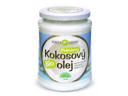 Purity Vision Bio Kokosový olej BIO 600 ml
