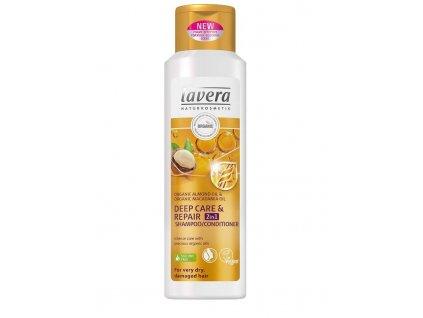 Lavera šampón a kondicionér 2V1 deep care   repair 250ml