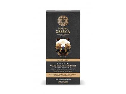 Natura siberica Prebúdzajúci oplachovací gél na tvár Medvedí uchopenie 150 ml