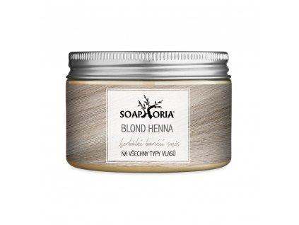 Soaphoria  Henna barva na vlasy Blond 150 ml