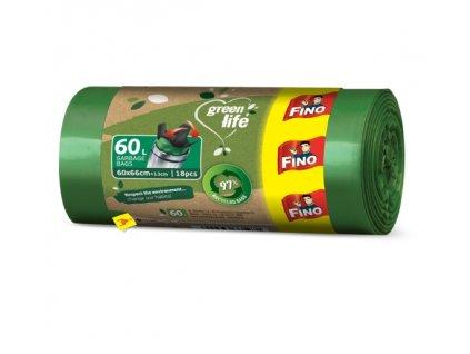 fino pytle na odpad z recyklovanho plastu 60l
