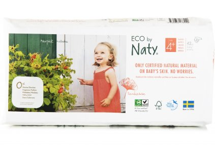 Naty Nature Economy Pack Maxi 4+ 9-20 kg 42ks