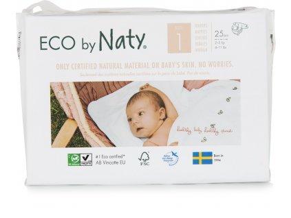 Naty Nature Babycare Newborn jednorázové eko plenky 2-5kg 25ks