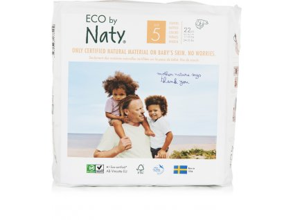 Eco by Naty Babycare Junior 11-25 kg 22 ks