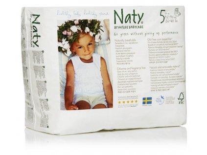 Naty Nature Babycare Natahovací plenkové kalhotky Junior 12-18kg 20ks