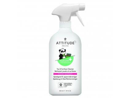 Attitude Čistiaci prostriedok na detské povrchy / hračky bez vône s rozprašovačom 475 ml