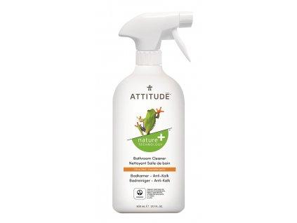 Attitude Čistící prostředek na koupelny s vůní citronové kůry s rozprašovačem 800 ml