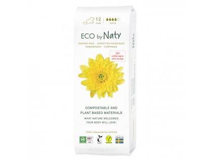 Eco by Naty Dámske ECO vložky Super 13 ks