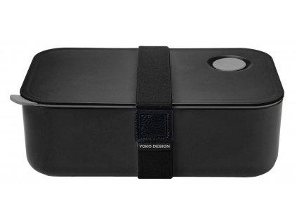 Yoko Design Box na jídlo černý