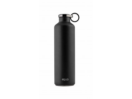 equa smart water bottle dark grey 680 ml