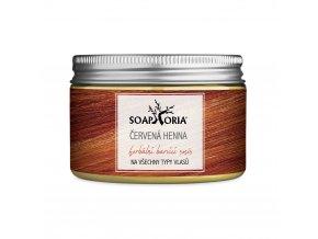 Soaphoria Henna mahagónový červená farba na vlasy 150ml