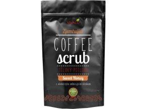 Vivaco Coffee scrub Telový kávový peeling Med 200 g