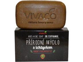 Vivaco Prírodné mydlo s Ichtyol 100 g